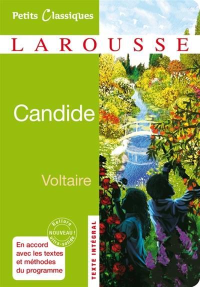 Livre Candide Ou Loptimisme Le Livre De Voltaire Larousse