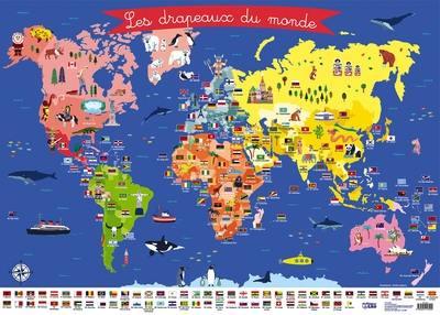 Livre Les Drapeaux Du Monde Le Livre De Emilie Lapeyre Lito 9782244113104
