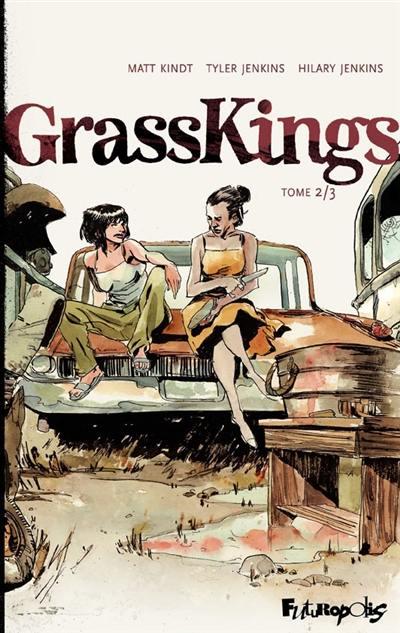 """Résultat de recherche d'images pour """"grass kings tome 2 futuropolis"""""""