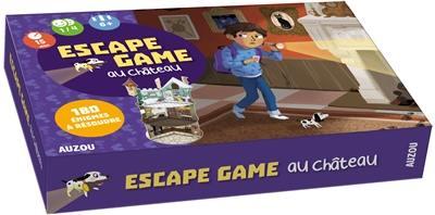 Livre Escape Game Au Chateau Le Livre De Emmanuel Tredez