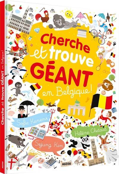 Livre Cherche Et Trouve Geant En Belgique Le Livre De