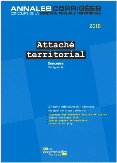 b47cffa3e18 Livre   Attaché territorial 2018