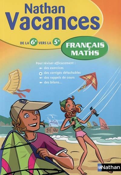 Livre Francais Maths De La 6e Vers La 5e Le Livre De